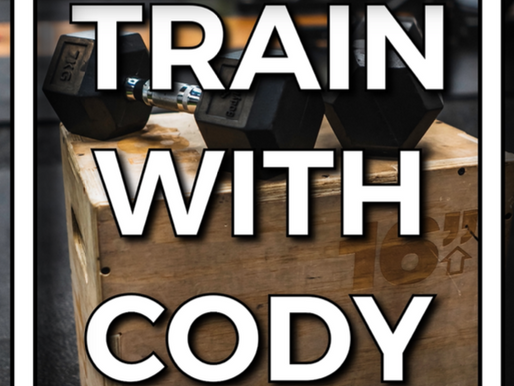 Train with Cody October 2021