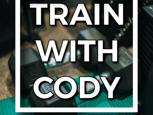 Train with Cody January 2021