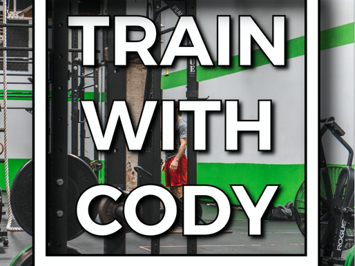Train with Cody April 2021