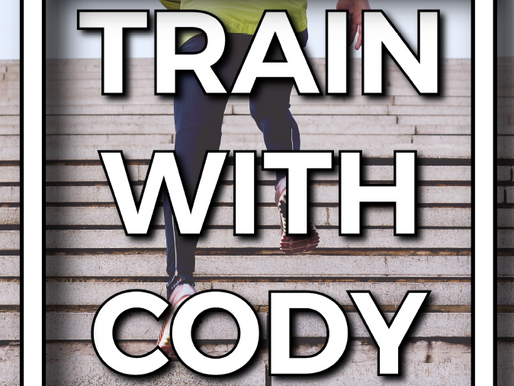 Train with Cody September 2021