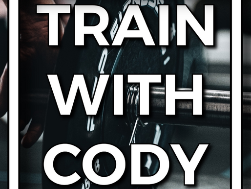 Train with Cody August 2021
