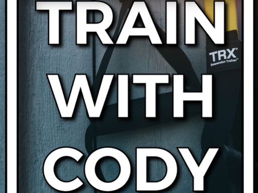 Train with Cody July 2021