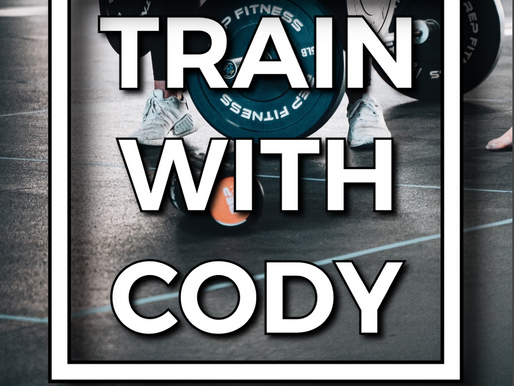 Train with Cody February 2021