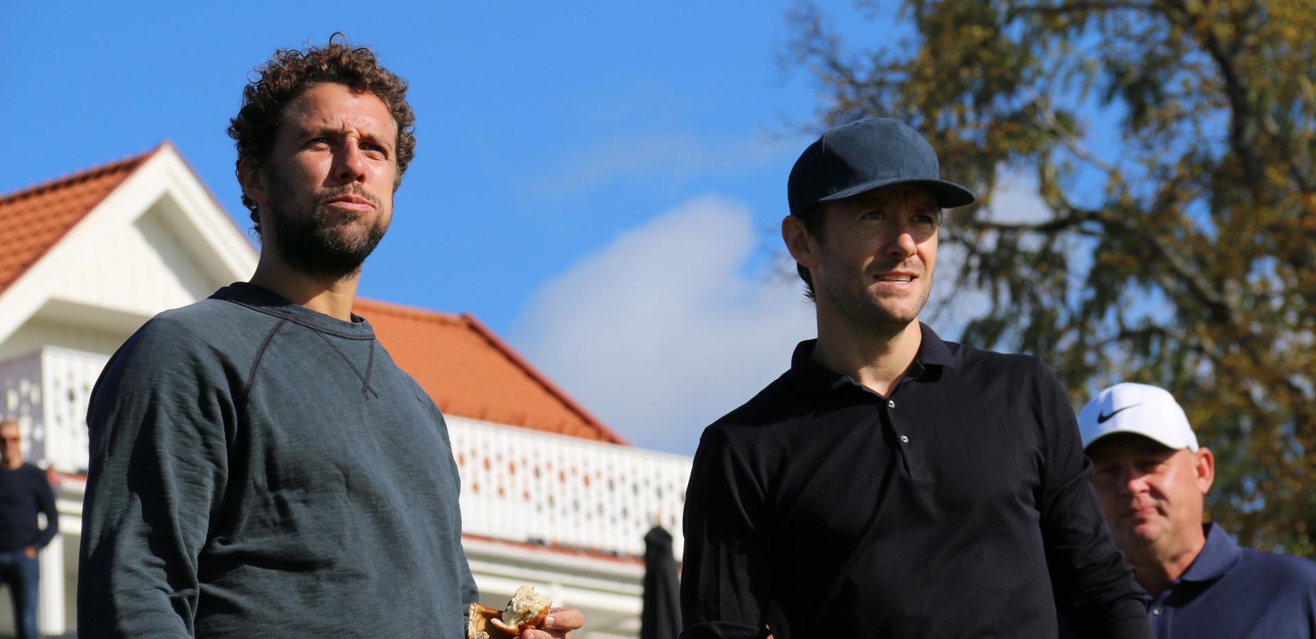 Thomas Gullestad og Freddy Dos Santos