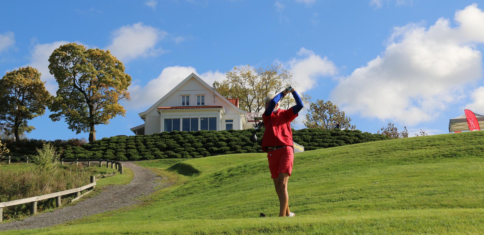 Golfpresident Marit Wiig