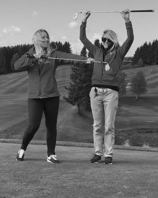 Trine og Anja Barnekreftforeningen