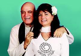 Dr. Kataria, MD and Madhuri Kataria, creators of Laughter Yoga and Laughter Clubs