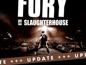 Verlegung Fury in the Slaughterhouse
