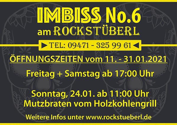 RS IMBISS No6 Öffnungszeiten 01.-31.01.