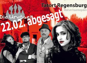 ABSAGE Schlemmen & Comedy 22.02.