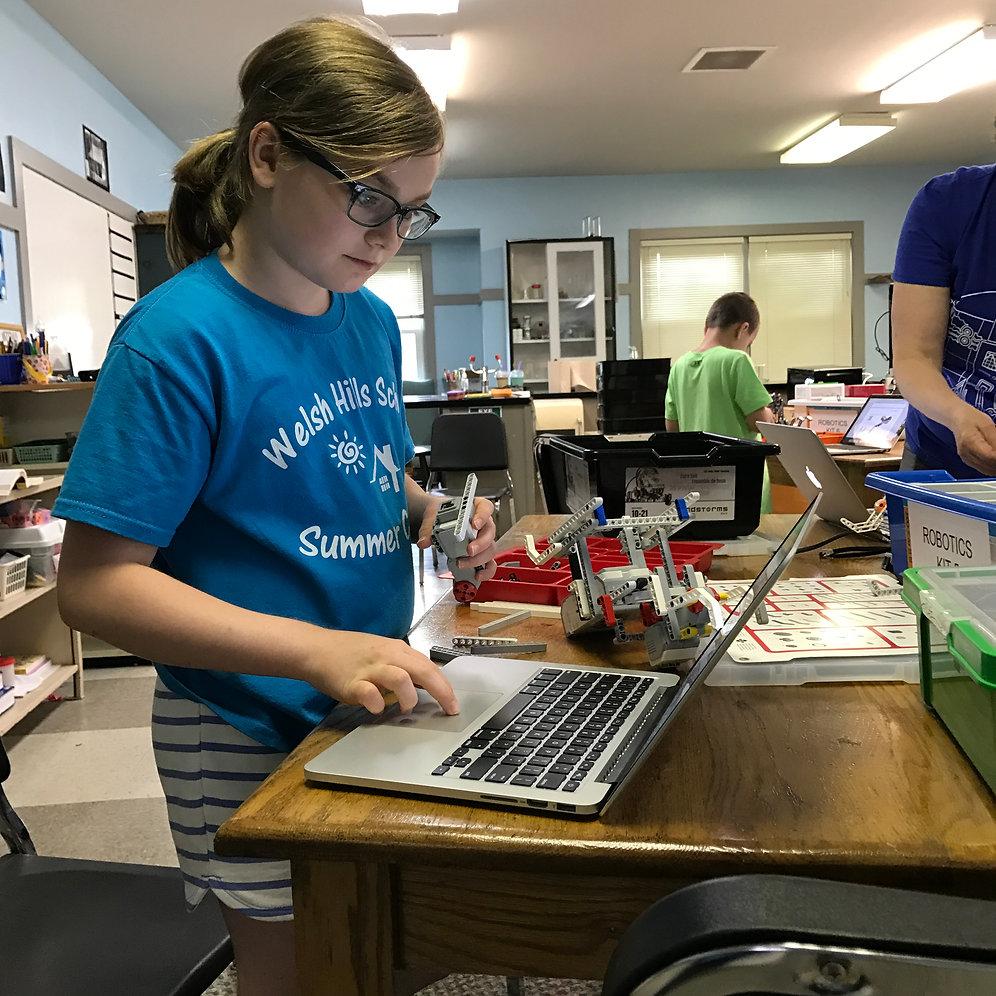 Robotics Skills Camp — First LEGO League • Grades 4-8