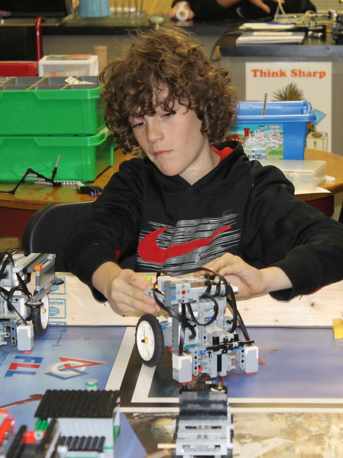 First Lego League Robotics - Grades 4-8