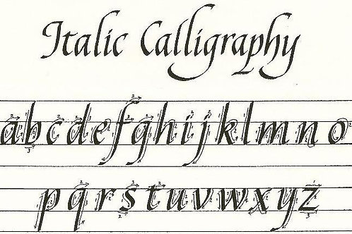 Calligraphy Camp: Ages 12 and Up