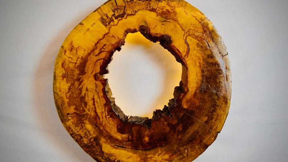 Wood Slice Wall Lamp