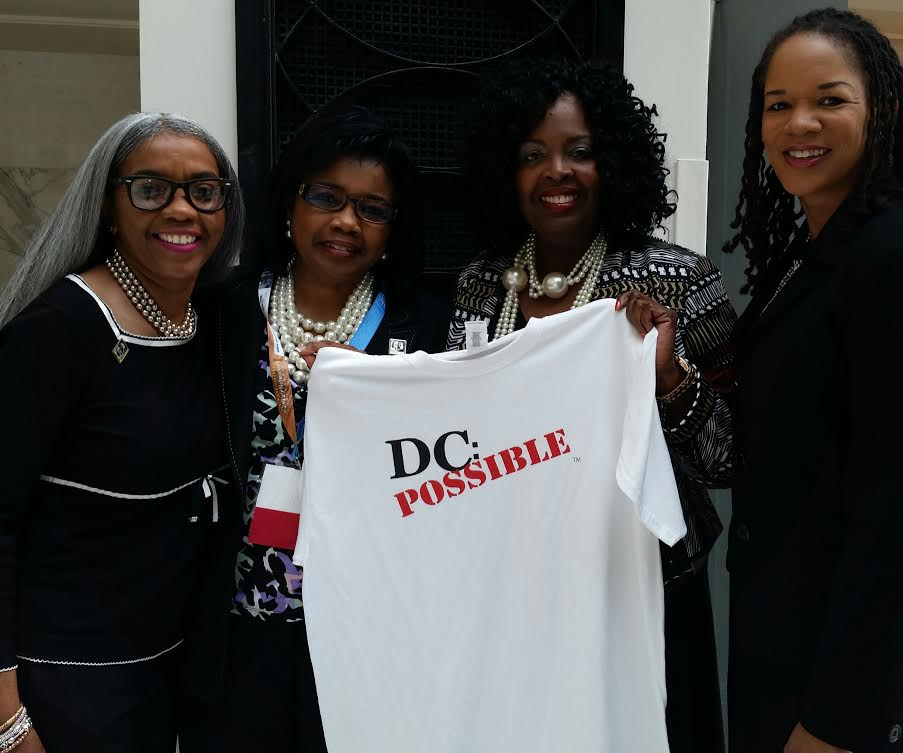 Peggy/Sisters4Sisters Is #DCPossible