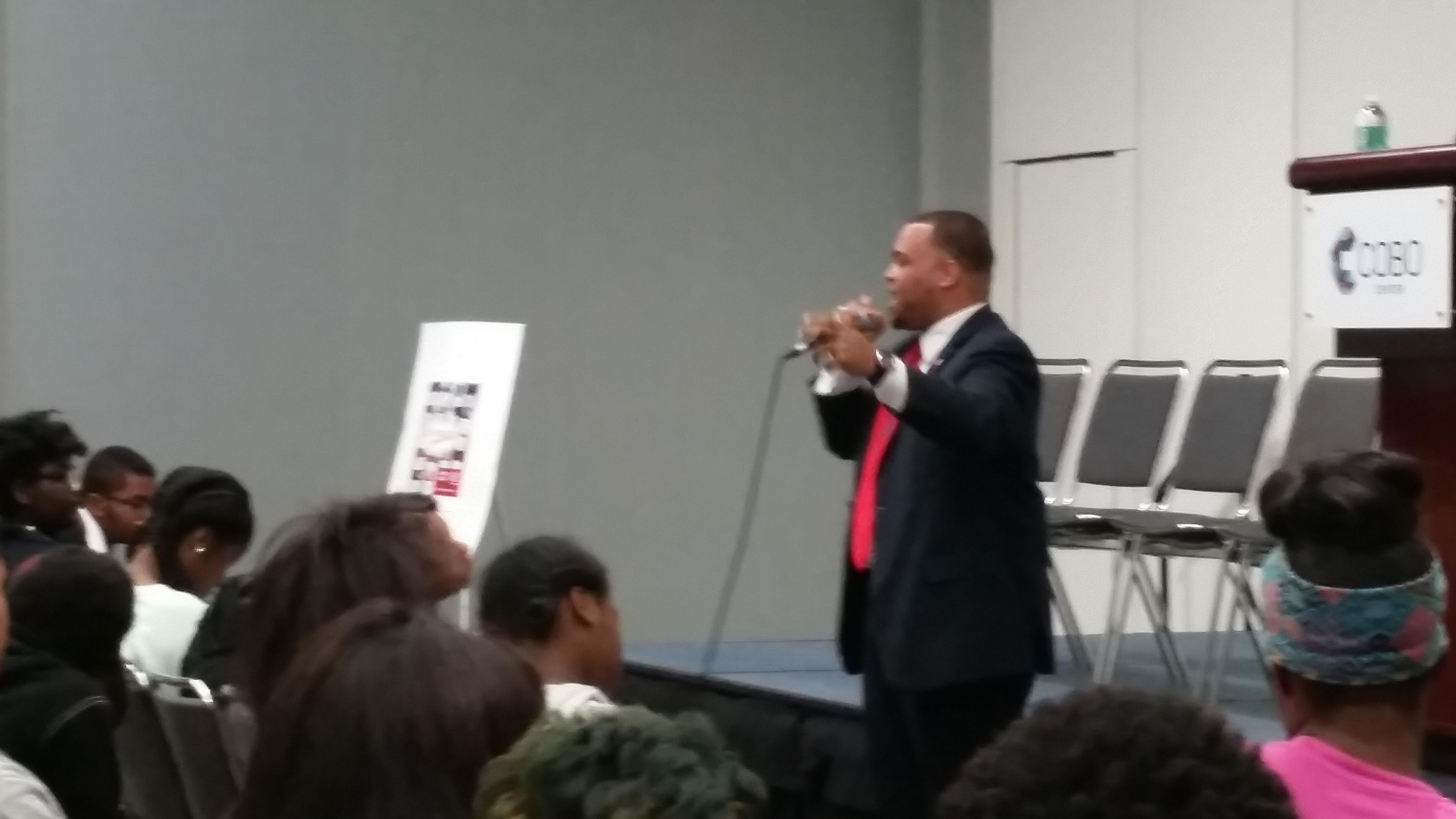 Antoine D. Jackson Keynote YDE 2016