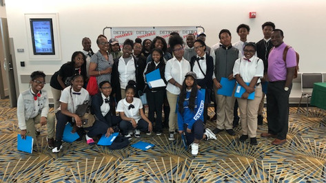 UPSM Steppers Detroit Possible 5th Annual Youth Day Explosion 2018