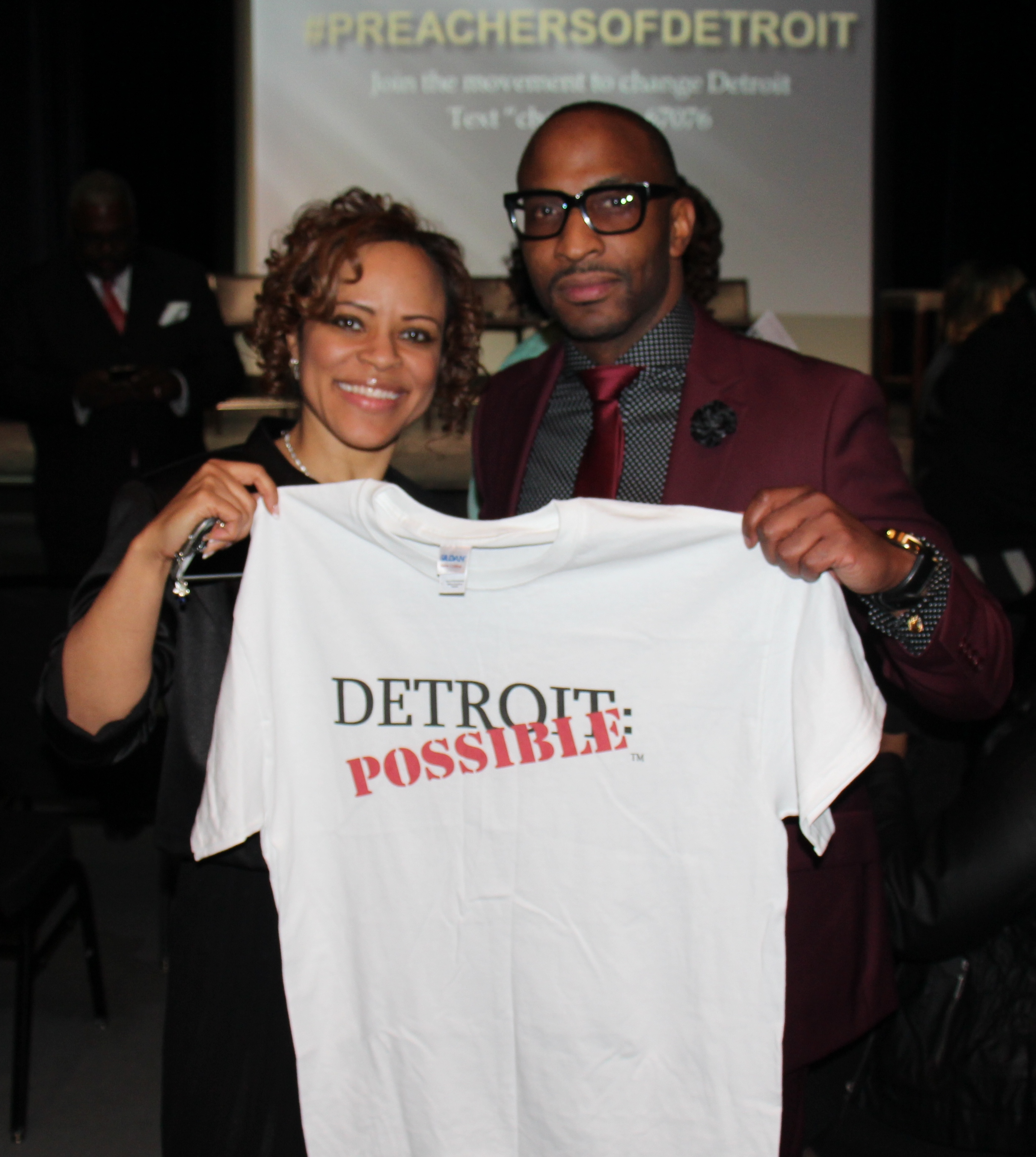 Pastor Bullock is #DetroitPossible