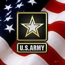 US ARmy Logo with Flag