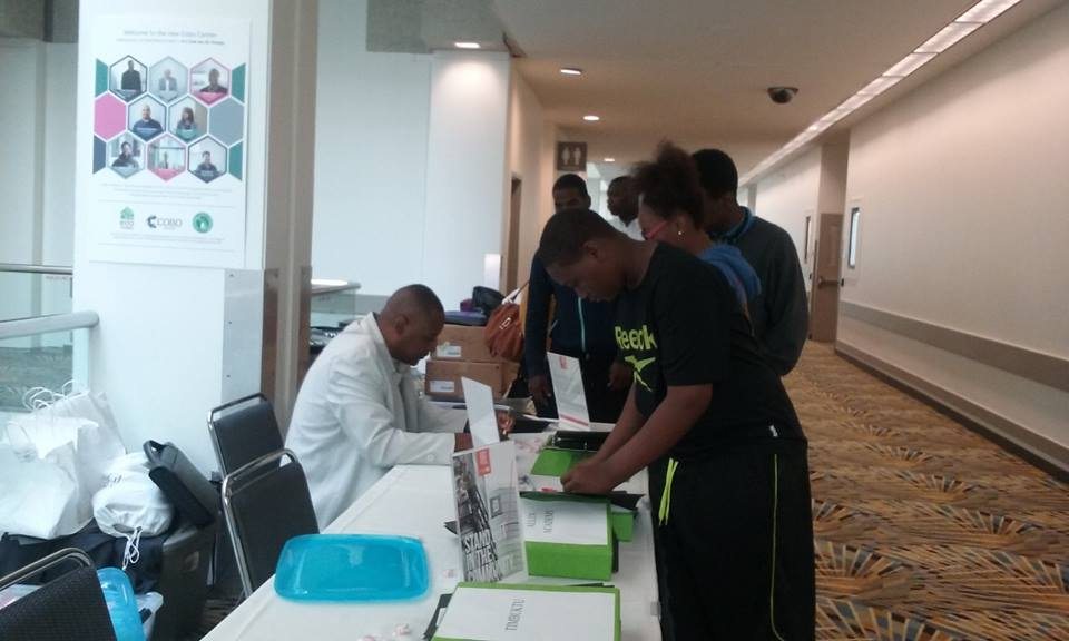 Students Getting Registered