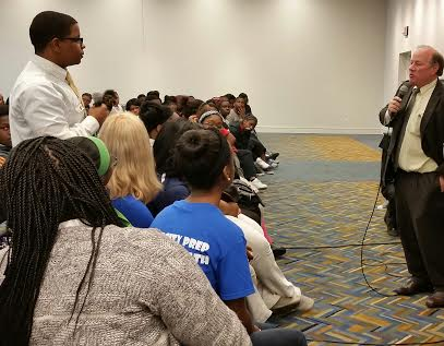 Youth Engaging w/ Mayor Duggan