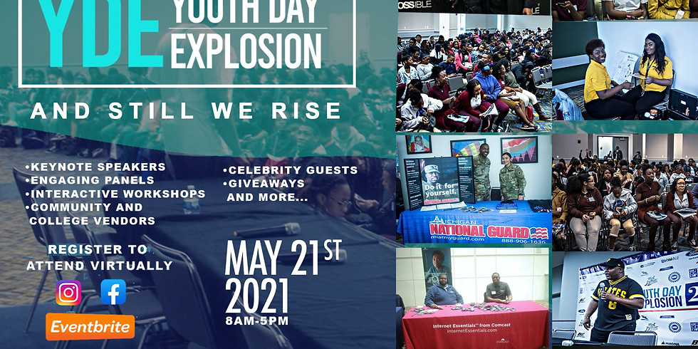 2021 Detroit Possible Community and Virtual Youth Day Explosion