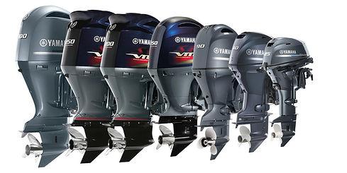 Yamaha Outboard Motor Lineup