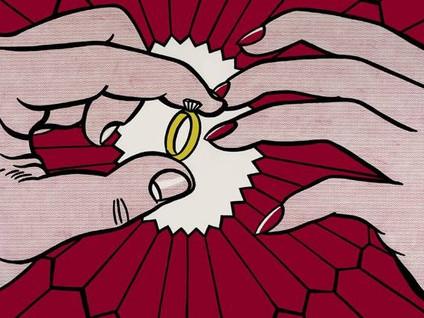 Roy Lichtenstein's 'The Ring (Engagement),' 1962