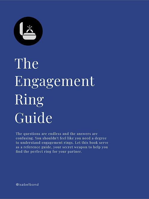 Isabel Bond Engagement Ring Guide