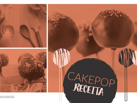 Cozinhando com as crianças nessa quarentena: Receita de Cake Pop Tema Festa Junina