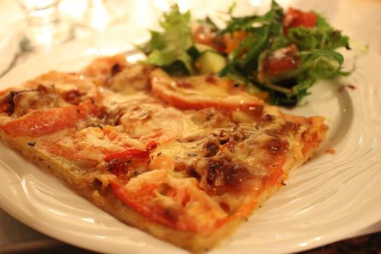 Fine pizza végé
