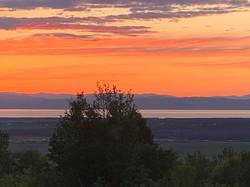 photo maison a louer coucher soleil 2020