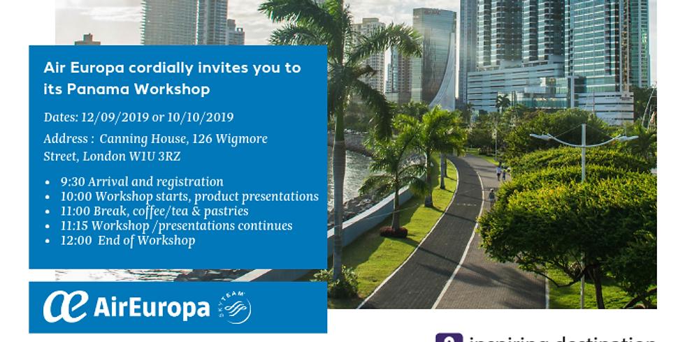 Panama Workshop - 10th October 2019