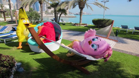 Angry Birds at Sheraton Grand Doha
