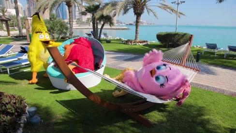 Angry Birds at Sheraton Grand Doha
