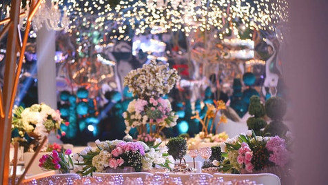 Wedding Setup - Sheraton Grand Doha