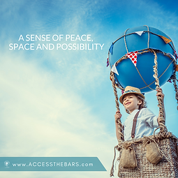 A sense of peace, space and possibility