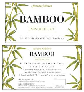 Serenity Bamboo Sheet Insert