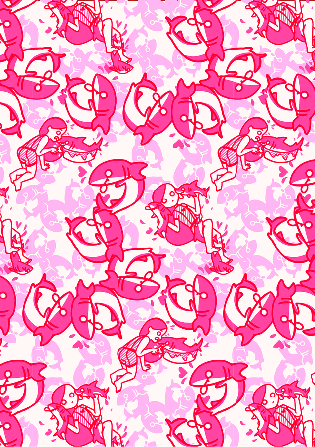 Sharkies Pink