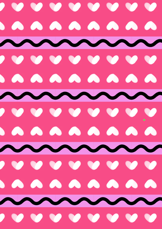 Pink BFF Pattern