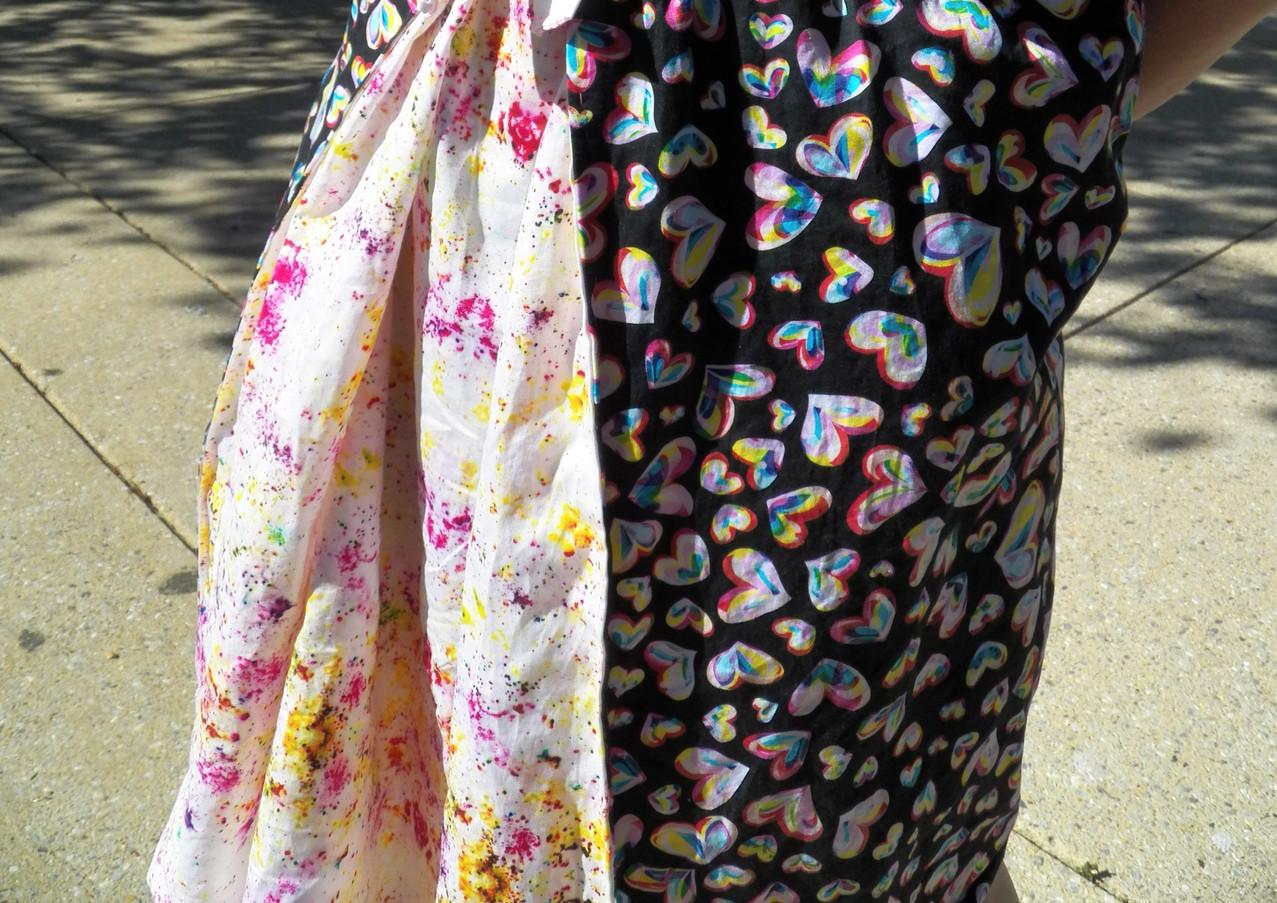 Spectrum Hearts Dress
