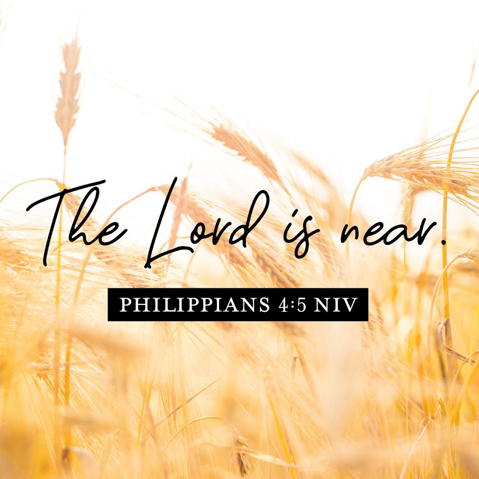 Philippians 4:5