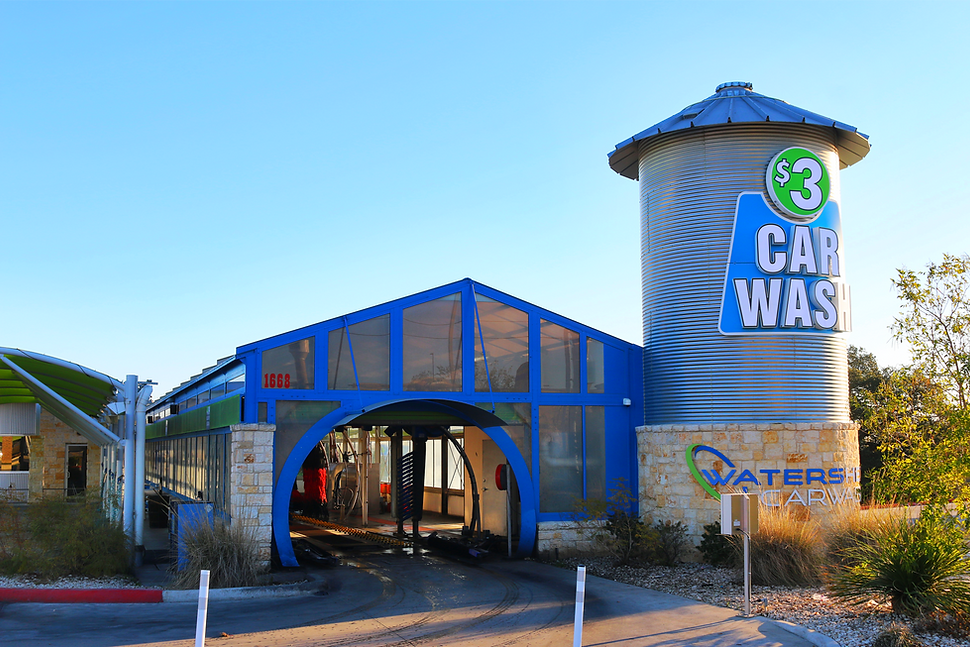 WATERSHED CAR WASH NEW BRAUNFELS  BY HCI