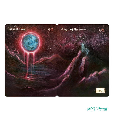 Blood Moon + Magus of the Moon