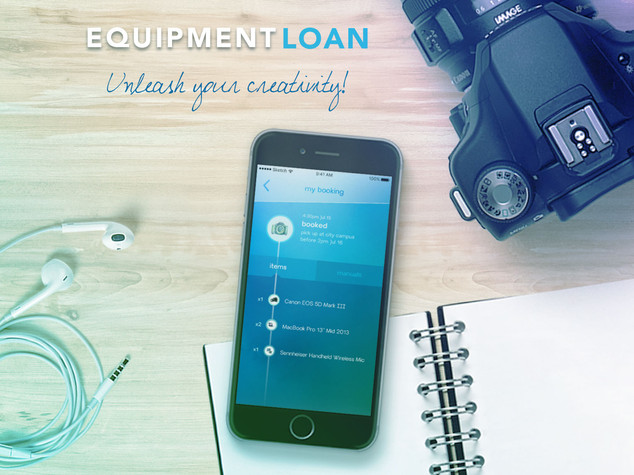 Equipment Booking - Mobile App