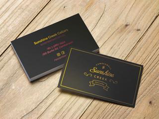 Sunshine Creek Camberwell - Business Cards