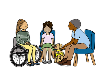 GROUP THREE - WHEELCHAIR_GUIDE DOG_AMPUT