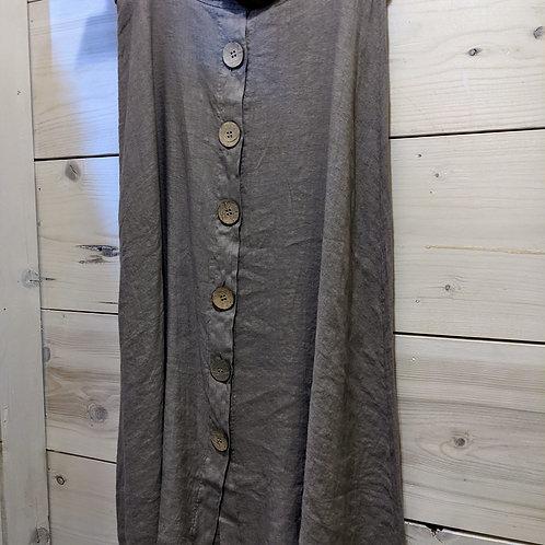 linen skirt with belt