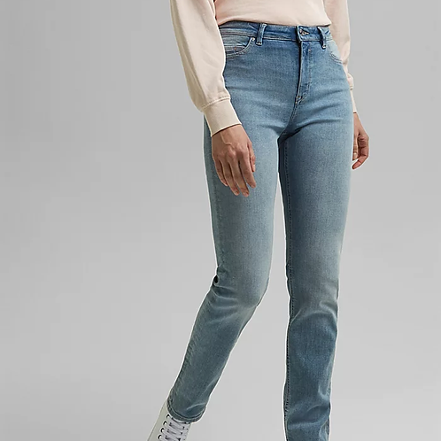Straight organic cotton jean
