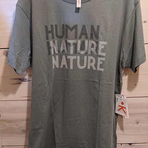 Human nature unisex shirt by Known Supply